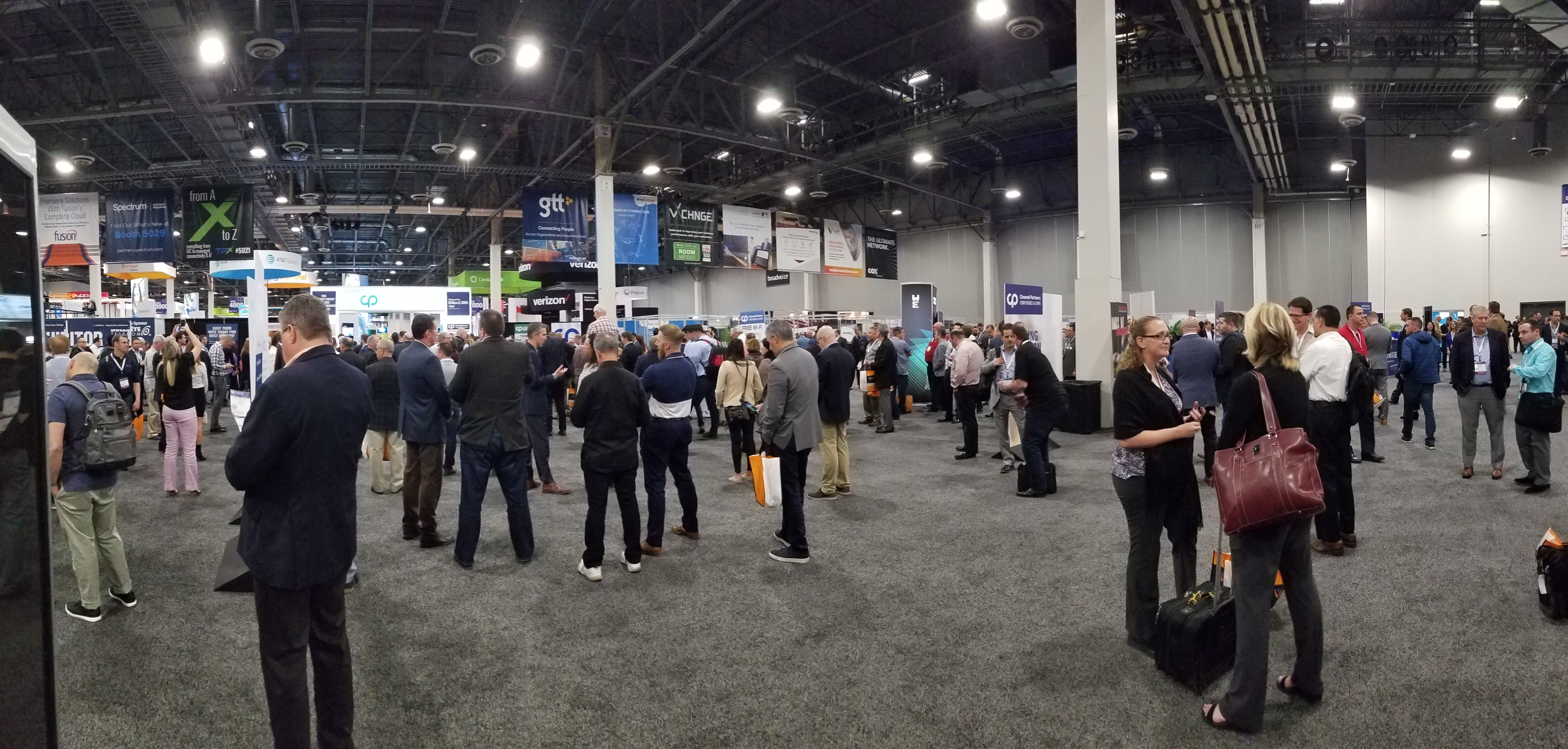 Channel Expo 2018 Floor on opening day