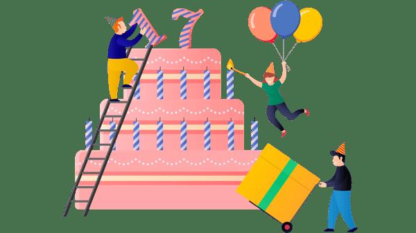 Digital Samba 17th Birthday