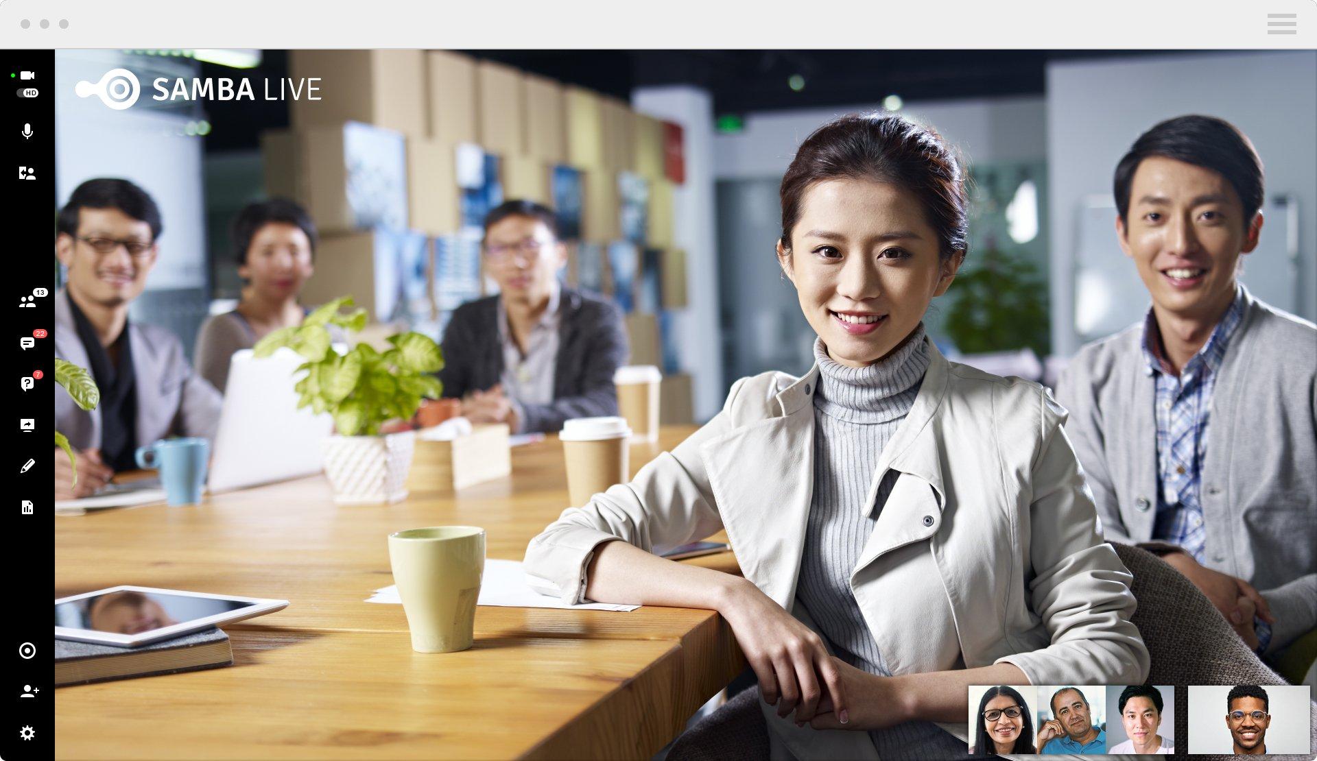 HD videoconferencing