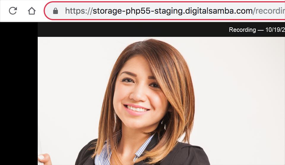 Share recorded webinars